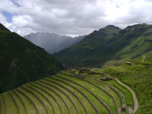 Peru for Terrace farming meaning